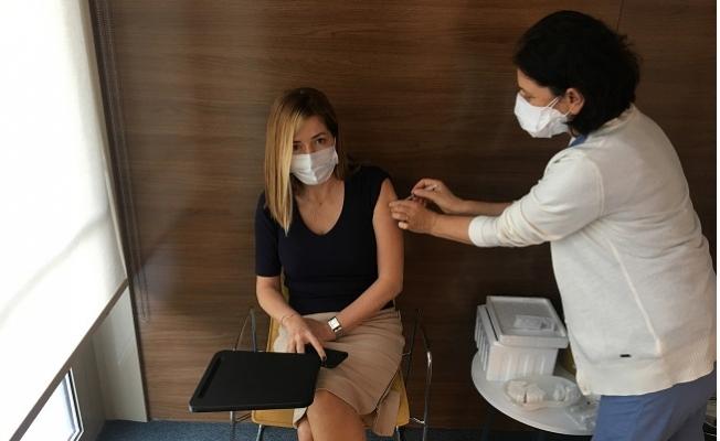Medical Park Mersin Hastanesi Çalışanları Aşı Oluyor