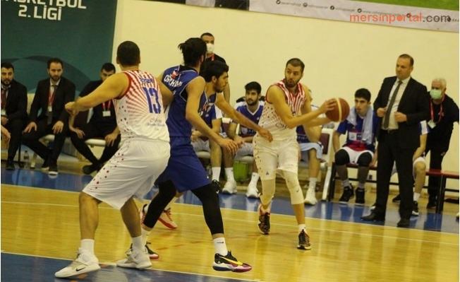 Mersin Büyükşehir, GSK Basketbol Takımını 63-57'lik Skorla Yendi.