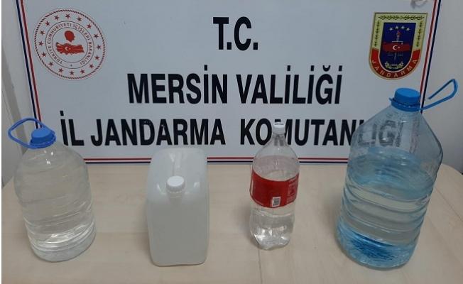 Mersin'de Sahte İçki Üretimi Yapan 3 Kişi Gözaltına Alındı