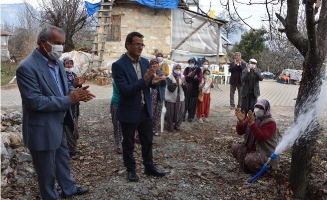 MESKİ, Erdemli'de İçmesuyu Çalışmalarını Sürdürüyor