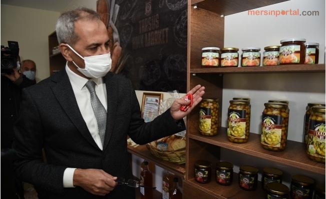Tarsus Belediyesi ilk Halk Marketi Açtı