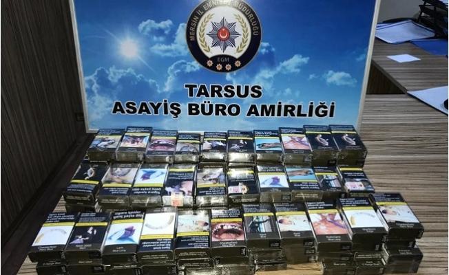 Tarsus'ta Büfede Sigara Hırsızlığı Yapan 2 Kişi Yakalandı