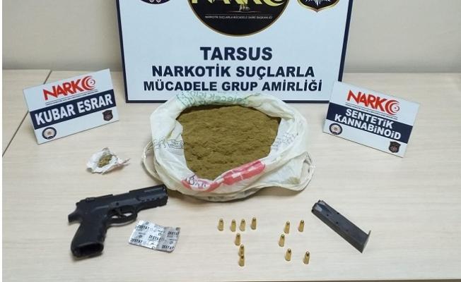 Tarsus'ta İş Yerinde Kumar Oynayan 4 Kişi Suçüstü akalandı