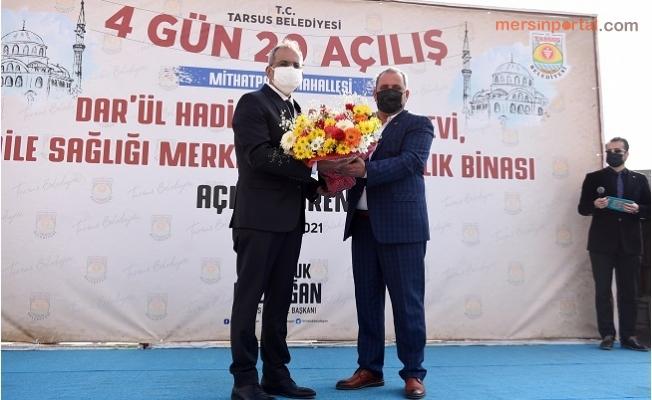 Başkan Bozdoğan 4.Günde 20'inci Açılışını Gerçekleştirdi.