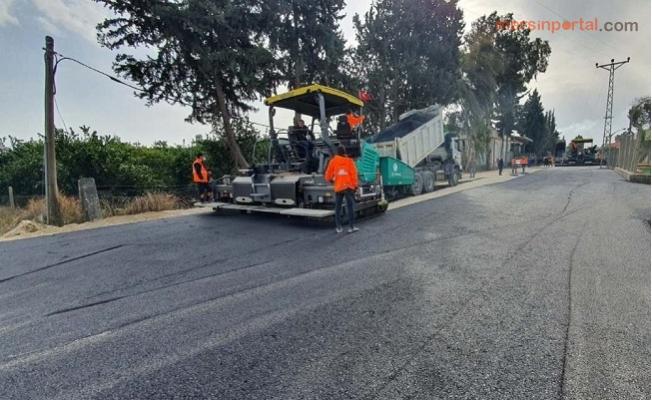 Büyükşehir, Tarsus'ta Yol Çalışmalarını Aralıksız Sürdürüyor