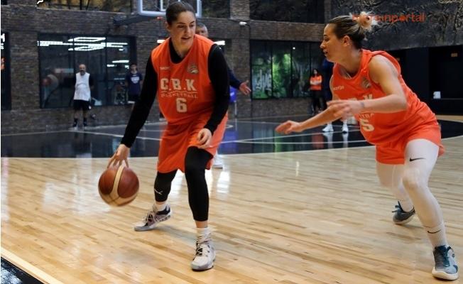 Çukurova Basketbol Kayseri Maçına Hazırlanıyor