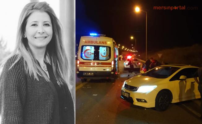 Mersin'e Ailesini Görmeye Gidiyordu. Feci Kazada Hayatını Kaybetti.