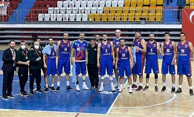 Mersin GSK Erkek Basketbol, Lokman Hekim Üniversitesini 73-67'lik Skorla Yendi.
