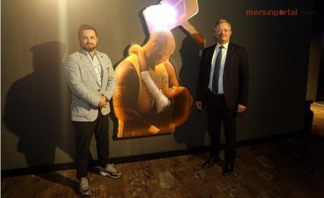 MTOSB Başkanı Tekli'den, Çukurova Basketbol Kulübü'ne Ziyaret