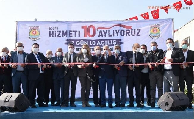 Tarsus Belediyesinden 1 Günde 6 Açılış