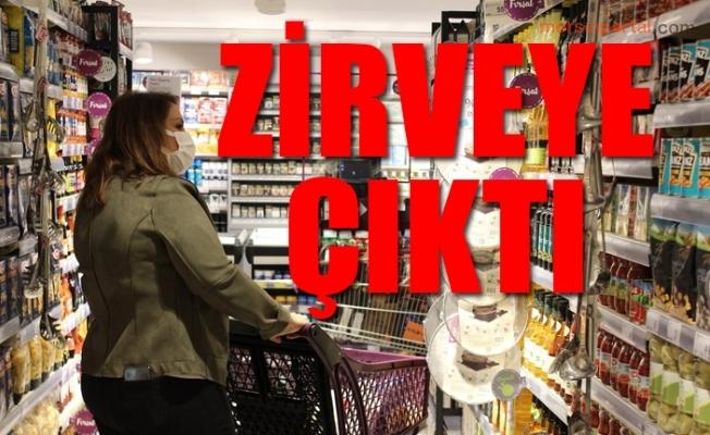 Türkiye Gıda Fiyatlarında Şampiyon Oldu