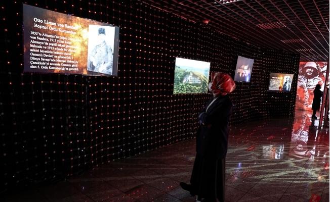18 Mart Çanakkale Zaferi'ni Dijital Gösterimde