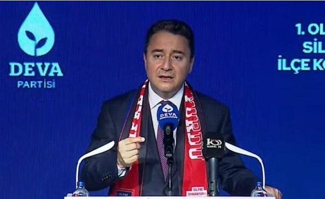 """Ali Babacan, Silifke'de Konuştu; """"Keyfi Yönetim Anlayışı Var"""""""