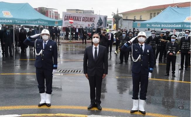 Atatürk'ün Tarsus'a Gelişinin 98.Yıl Dönümü Törenlerle Kutlandı.