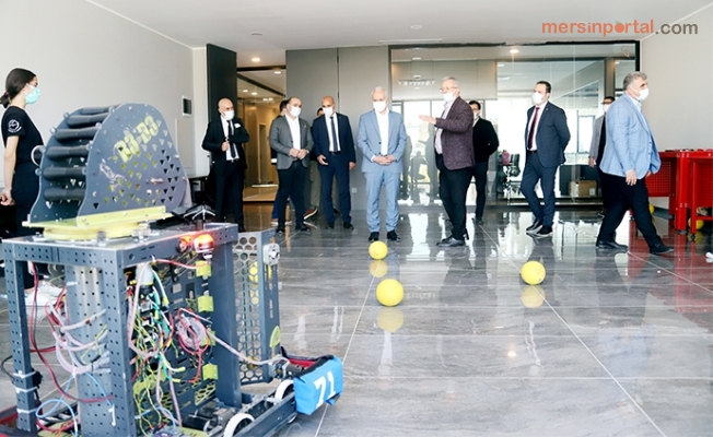 Başkan Gültak Model Fabrika'yı Ziyaret Etti.