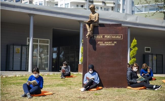 Büyükşehir'den Çocukları Okumaya Yönlendirecek Sanatsal Çalışma