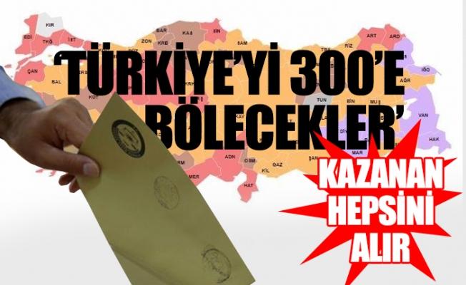 İşte AKP'nin Üzerinde Çalıştığı Seçim Sistemi Modeli...