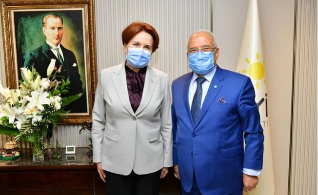 İYİ Parti Mersin Heyetinden Meral Akşener'e Ziyaret