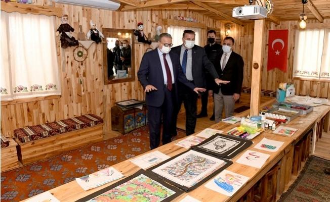 Mersin Anadolu Ayşe Ecevit Masal Evi Çocukları Ağırlamaya Hazırlanıyor