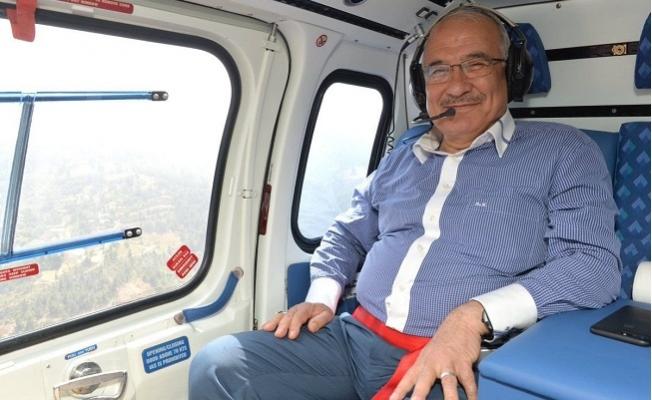 Mersin Büyükşehir'e Helikopter 50 Milyon'a Mal Oldu.
