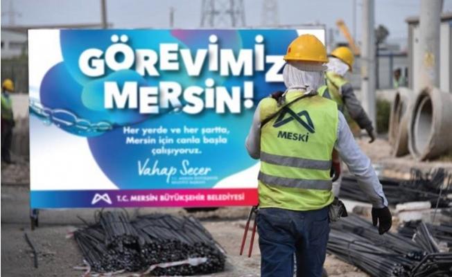 Mersin Büyükşehirden Alt Yapıya Dev Yatırım