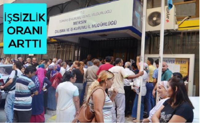 Mersin'de İşsizlik Oranı %13.4