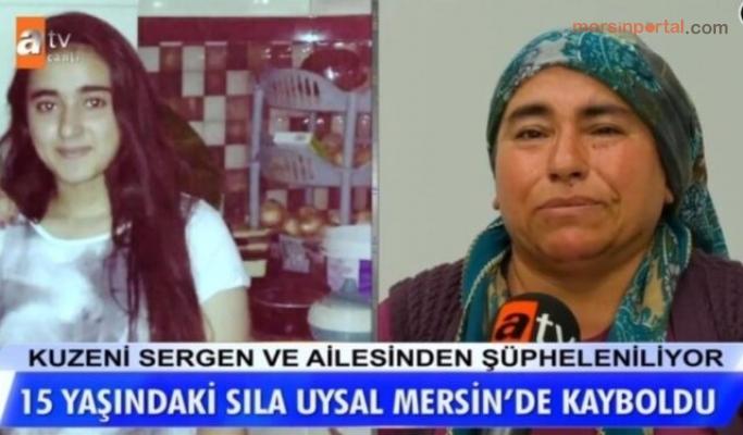 Mersin'de Kaybolan 15 Yaşındaki Sıla Uysal Her Yerde Aranıyor