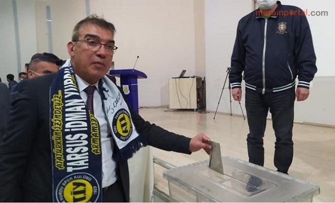 Tarsus İdmanyurdunda Yeni Başkan Şahin Kırbıyık
