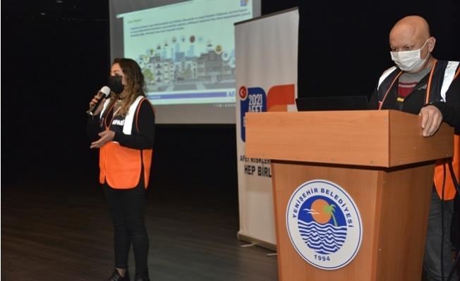 Yenişehir Belediyesi Personeline Afet Farkındalık Eğitimi