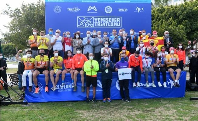 26 İlden 260 Sporcu İle Yenişehir'de Triatlon Heyecanı Yaşandı