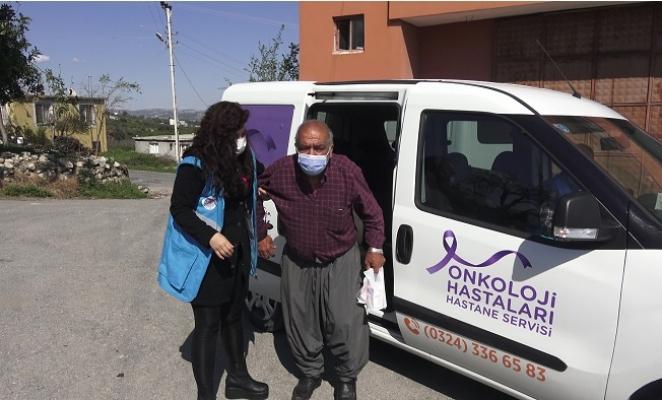 Akdeniz Belediyesi Onkoloji Hastalarını Yalnız Bırakmıyor