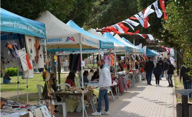 Büyükşehir, Üretici Kadınları Tarsus'ta Buluşturdu.