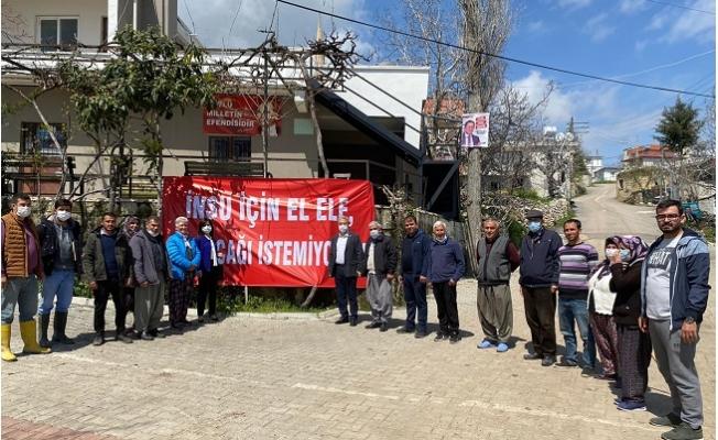 CHP'li Antmen, Mersin İnsu Köylülerinin Taşocağı İsyanını Meclis'e Taşıdı!