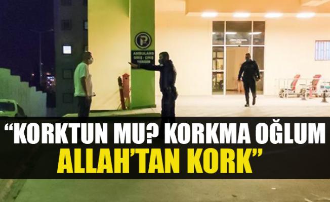 """Covid'li Vatandaş Polisin Yüzüne Tükürerek; """"Korkma Allahtan Kork"""""""