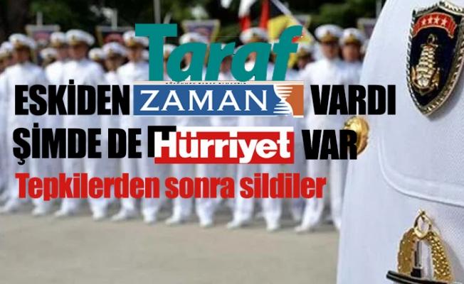 Hürriyet'ten Amiralleri Fişleme Skandalı...