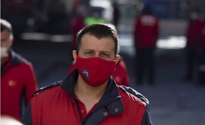 Mersin'de İtfaiye Eri Koronavirüs'e Yenik Düştü