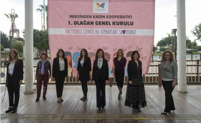 Mersin'de Kadın Kooperatifi 1.Olağan Genel Kurulunu Yaptı.