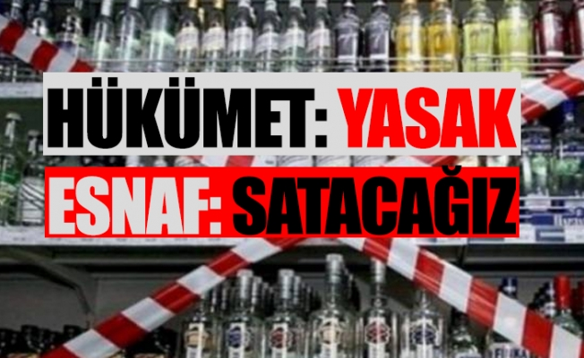 Tam Kapanmada Alkol Yasağı Restleşmesi