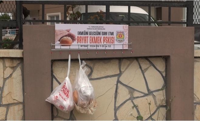 Tarsus'ta 'Bayat Ekmek Toplama Askıları'