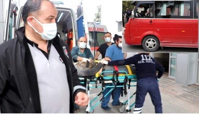 Tarsus'ta Yolcu Sürücüyü Silahla Yaraladı