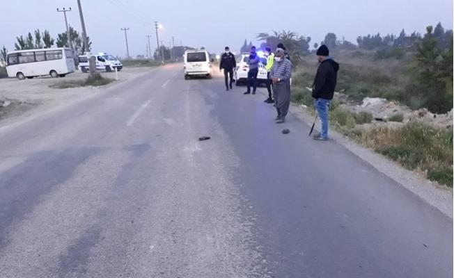 Tarsus'ta Feci Trafik Kazasında 1 Kişi Hayatını Kaybetti.
