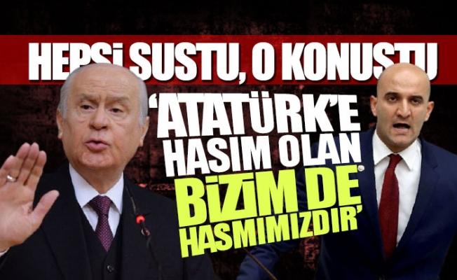Atatürk'e Hakaret'e MHP'li Olcay Kılavuz Sessiz Kalmadı.