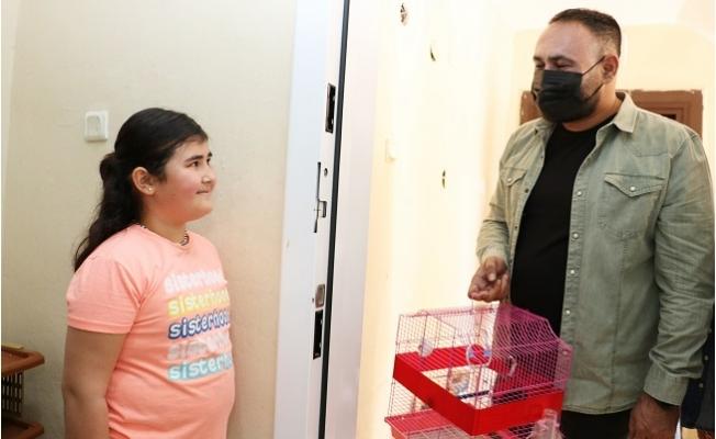 Başkan Yılmaz'dan 10 Yaşındaki Melisa'ya Sürpriz
