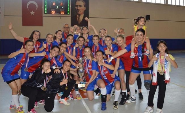 Büyükşehir Kadın Hentbol Takımı,  Namağlup Şampiyon