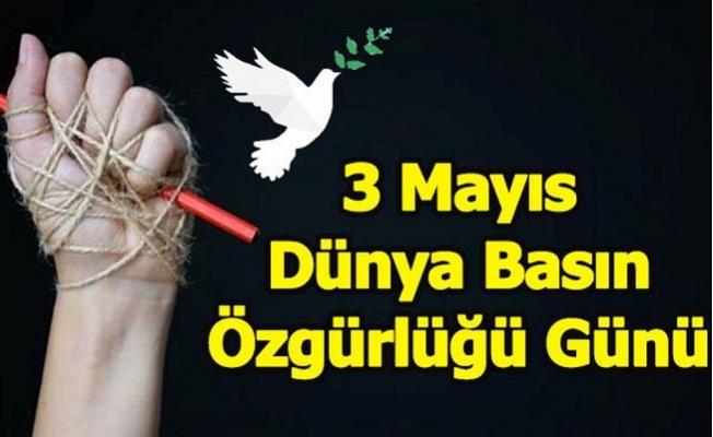 CHP'li Başarır Dünya Basın Özgürlüğü Gününü Kutladı.