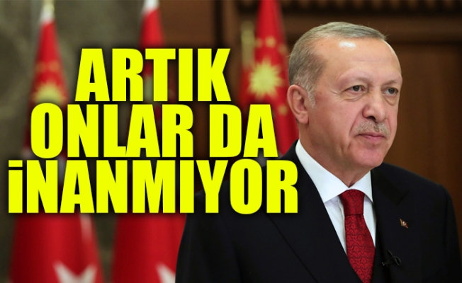 Cumhurbaşkanı Erdoğan'a Kendi Partisinin Seçmeninden Kötü Haber