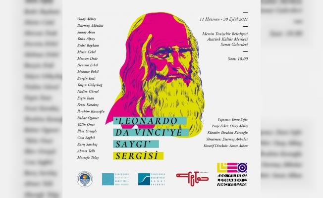Leonardo da Vinci'ye Saygı sergisi 11 Haziran'da Açılıyor
