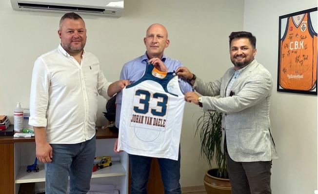 MIP Genel Müdürü Van Daele'den Çukurova Basket'e Destek