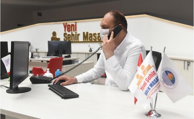 Yenişehir Belediyesi Tam Kapanmada da Vatandaşın Yanında