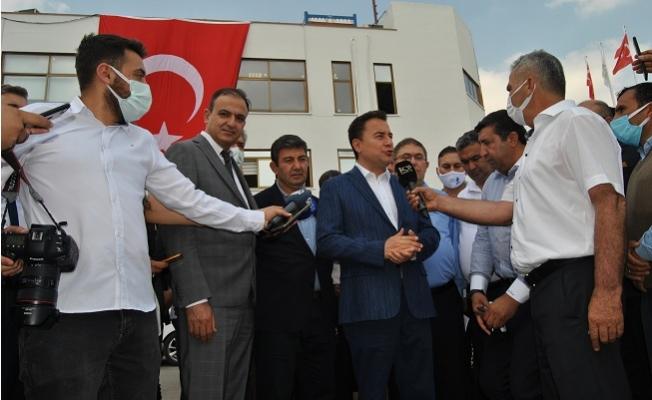 Ali Babacan, Mersin'de Tarım Eylem Planını Açıkladı